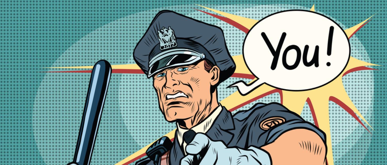 Police officer (Shutterstock/studiostoks)