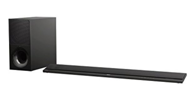 Normally $500, this sound bar is 30 percent off (Photo via Amazon)