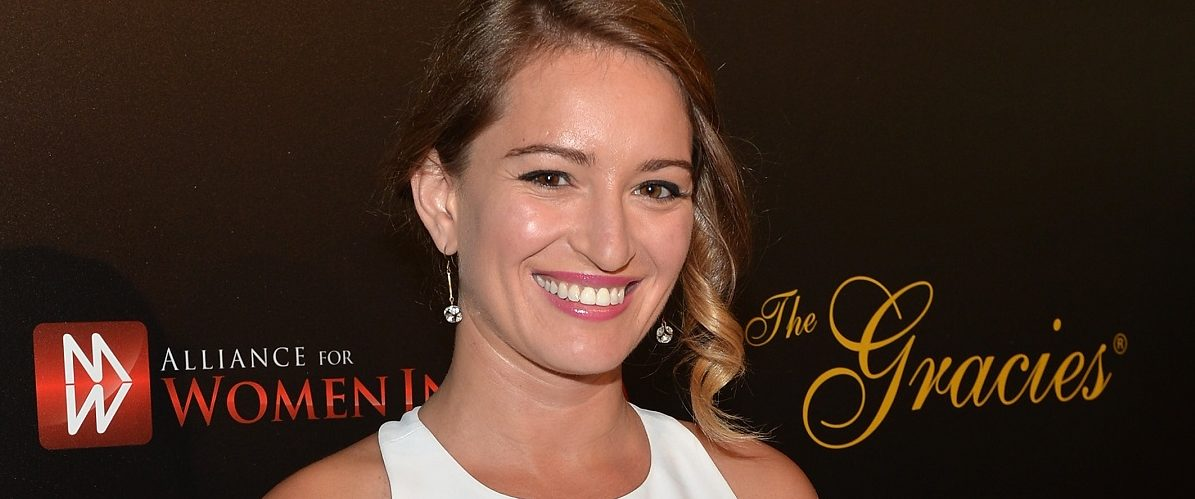NBC News correspondent Katy Tur arrives to the 39th Gracie Awards Gala at The Beverly Hilton Hotel on May 20, 2014 in Beverly Hills, California. Alberto E. Rodriguez/Getty Images)