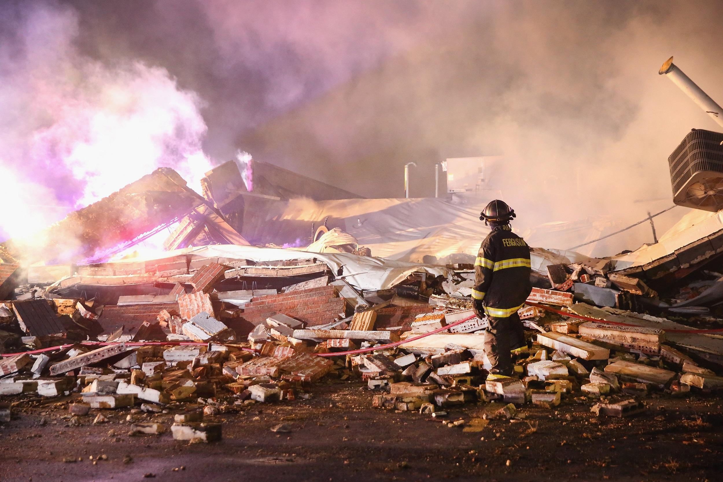 Ferguson damage Getty Images/Scott Olson
