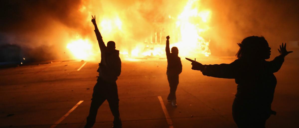 Ferguson riot Getty Images/Scott Olson