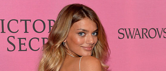 LONDON, ENGLAND - DECEMBER 02:  Bregje Heinen attends the pink carpet of the 2014 Victoria's Secret Fashion Show on December 2, 2014 in London, England.  (Photo by Anthony Harvey/Getty Images for Victoria's Secret)