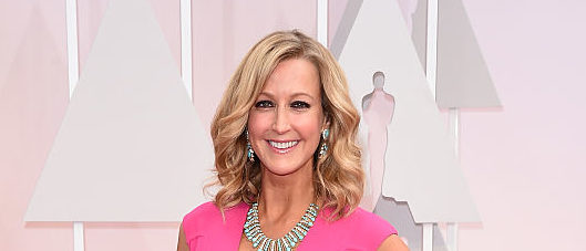 HOLLYWOOD, CA - FEBRUARY 22:  TV personality Lara Spencer attends the 87th Annual Academy Awards at Hollywood & Highland Center on February 22, 2015 in Hollywood, California.  (Photo by Jason Merritt/Getty Images)