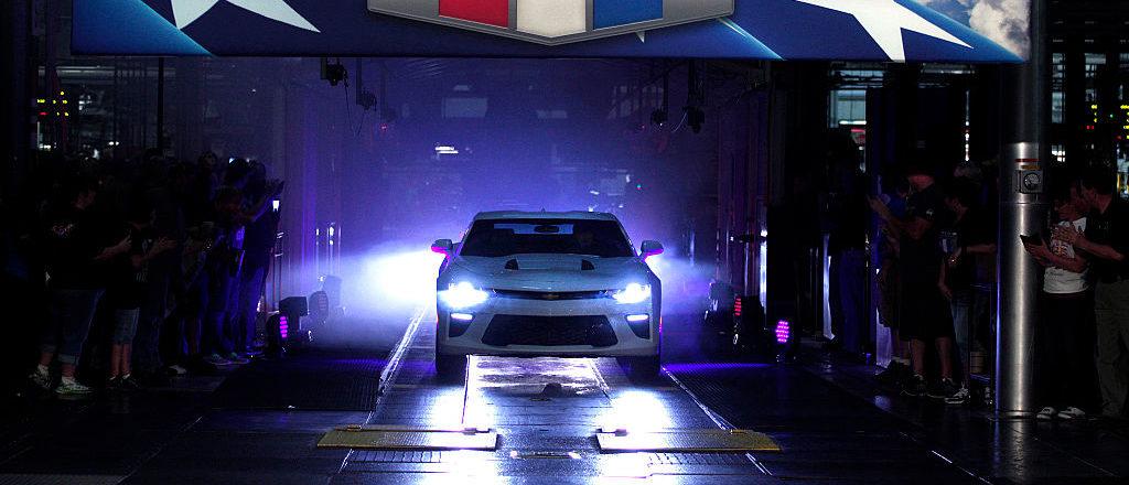 2016 Chevrolet Camaro (Photo by Bill Pugliano/Getty Images)