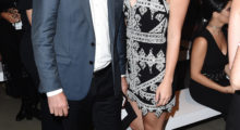 Savannah Chrisley and her dad attended a show together during New York Fashion Week. (Photo: Getty Images)
