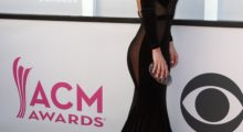 Savannah Chrisley stunned in a black gown at the 52nd Academy Of Country Music Awards. (Photo: Getty Images)