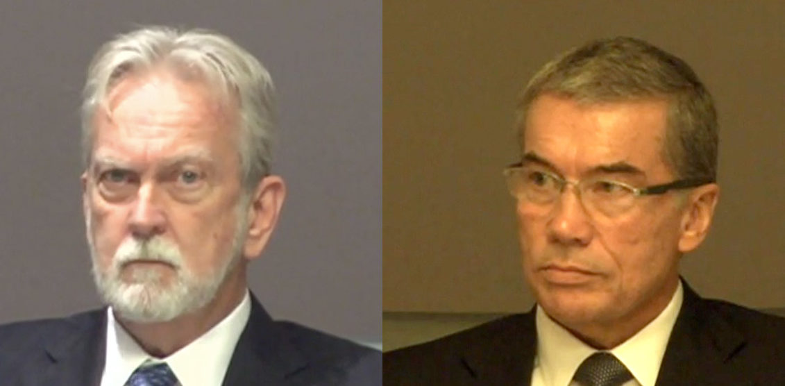 "James Mitchell (left) and John ""Bruce"" Jessen (right). (PHOTO: Courtesy of ACLU)"