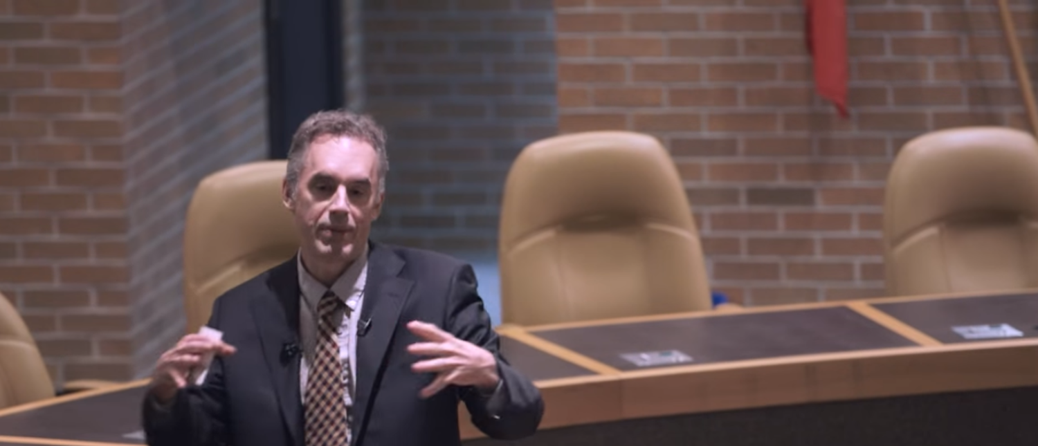 Dr. Jordan B. Peterson discusses political correctness and free speech (Photo Credit: YouTube/Jordan B Peterson)