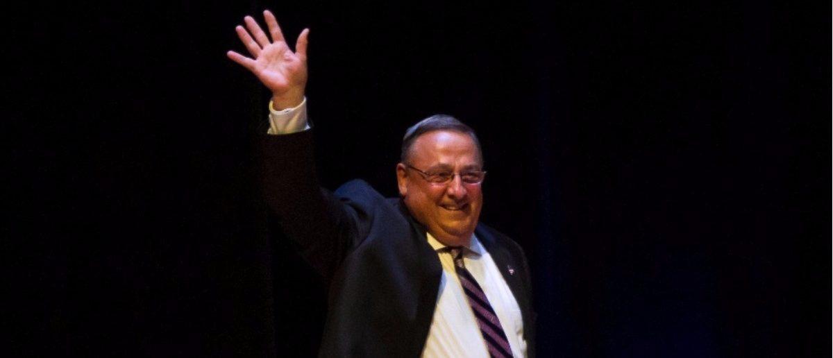 Maine Republican Gov. Paul Lepage. (Sarah Rice/Getty Images)