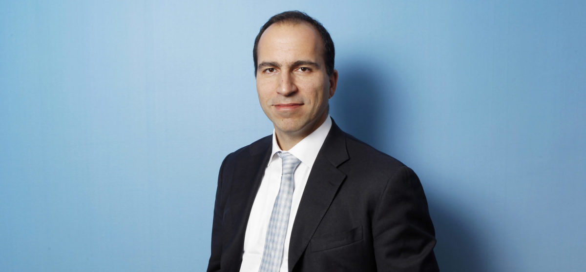 Expedia CEO Dara Khosrowshahi poses for a portrait during the 2010 Reuters Travel and Leisure Summit in New York February 22, 2010. REUTERS/Lucas Jackson