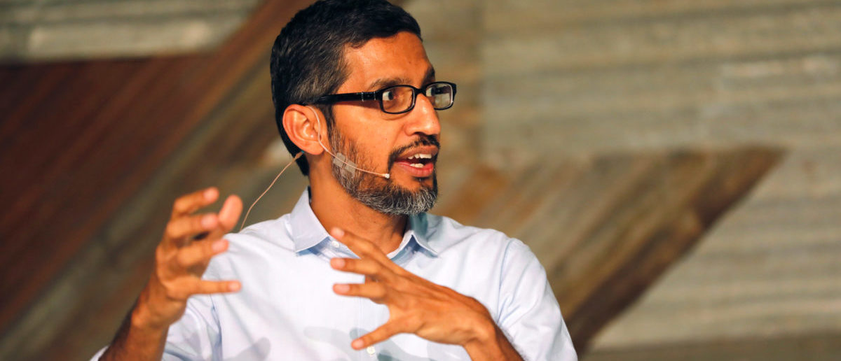 Google's CEO Sundar Pichai REUTERS/Akintunde Akinleye