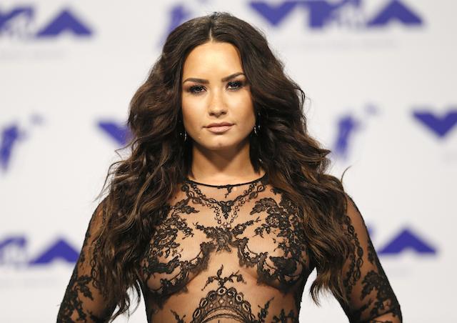 2017 MTV Video Music Awards ñ Arrivals ñ Inglewood, California, U.S., 27/08/2017 - Demi Lovato. REUTERS/Danny Moloshok - RTX3DKV3