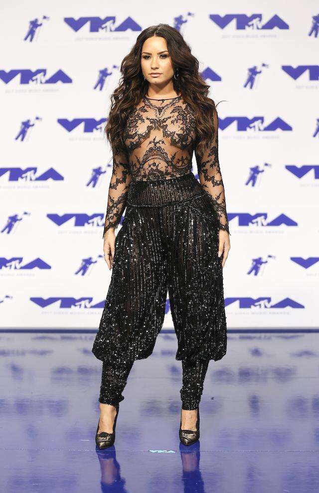 2017 MTV Video Music Awards ñ Arrivals ñ Inglewood, California, U.S., 27/08/2017 - Demi Lovato. REUTERS/Danny Moloshok - RTX3DKV8