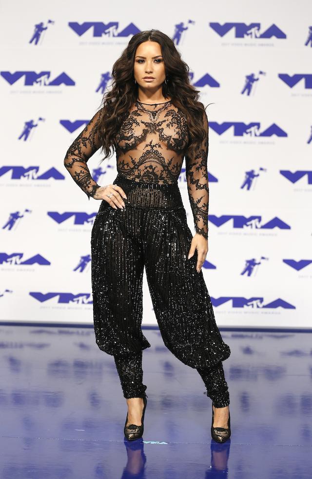2017 MTV Video Music Awards ñ Arrivals ñ Inglewood, California, U.S., 27/08/2017 - Demi Lovato. REUTERS/Danny Moloshok - RTX3DKVG