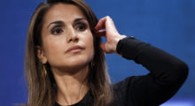 Queen Rania of Jordan takes part in a plenary session on empowering girls and women during the Clinton Global Initiative in New York September 21, 2010.  REUTERS/Lucas Jackson (UNITED STATES - Tags: POLITICS BUSINESS) - GM1E69M09I401