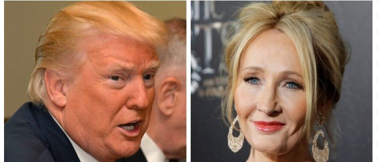 Donald Trump, J.K. Rowling (Getty Images/Reuters Pictures)