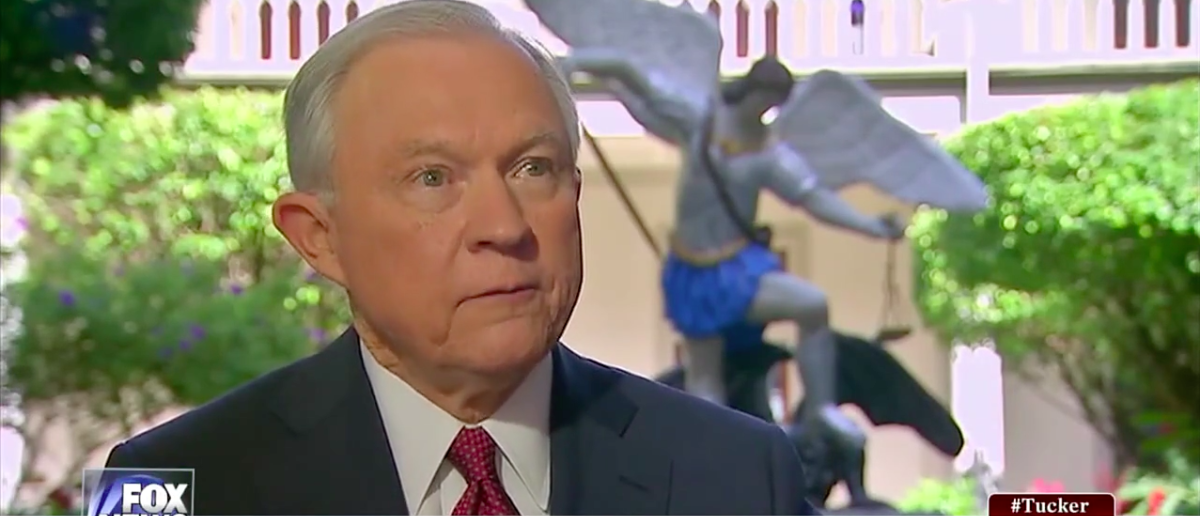 Screen Shot Attorney General Jeff Sessions Says 'Build The Wall' (Fox News: August 3, 2017)