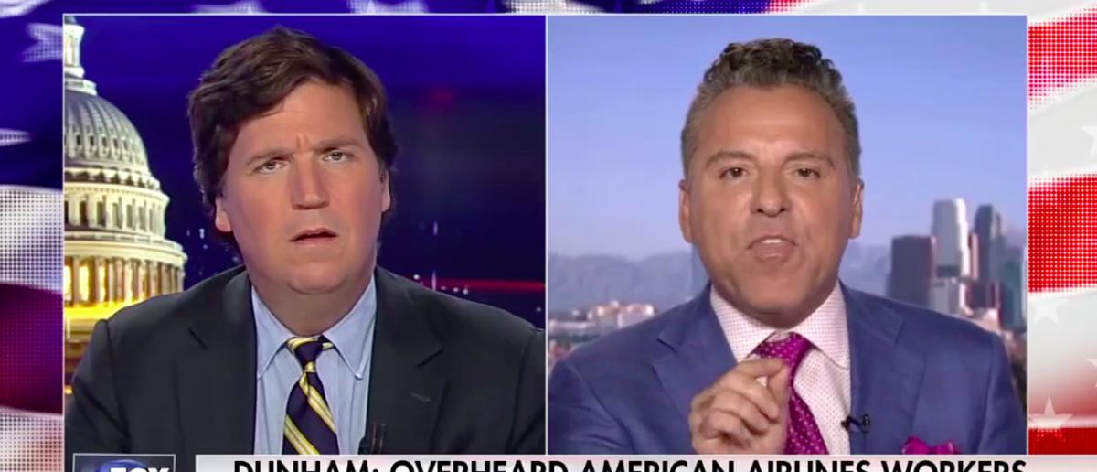 Screen Shot Tucker Carlson Battles Civil Rights Attorney (Fox News: August 4, 2017)