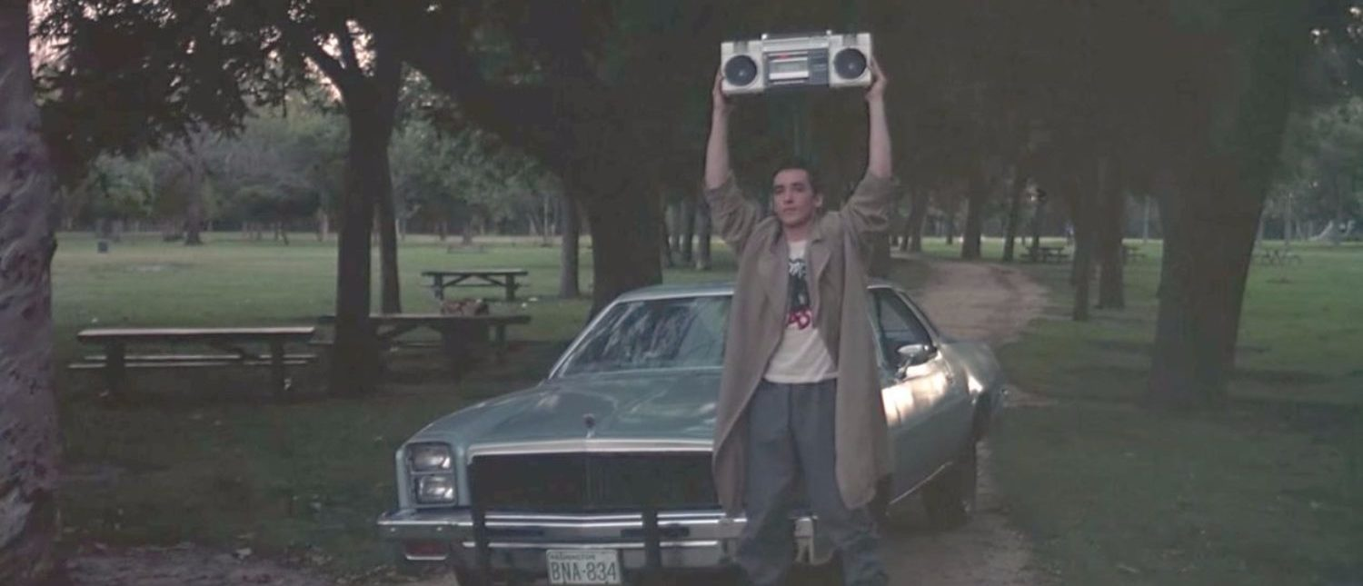 """Say Anything... (3/5) Movie CLIP - Boombox Serenade (1989) HD"" [YouTube/Screenshot/Public - User: Movieclips/Fandango]"
