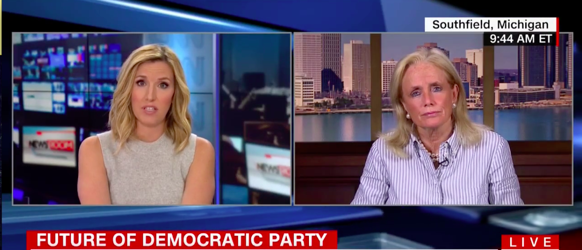 Screen Shot Rep. Dingell Won't Address Party's Leadership (CNN: Aug 10, 2017)