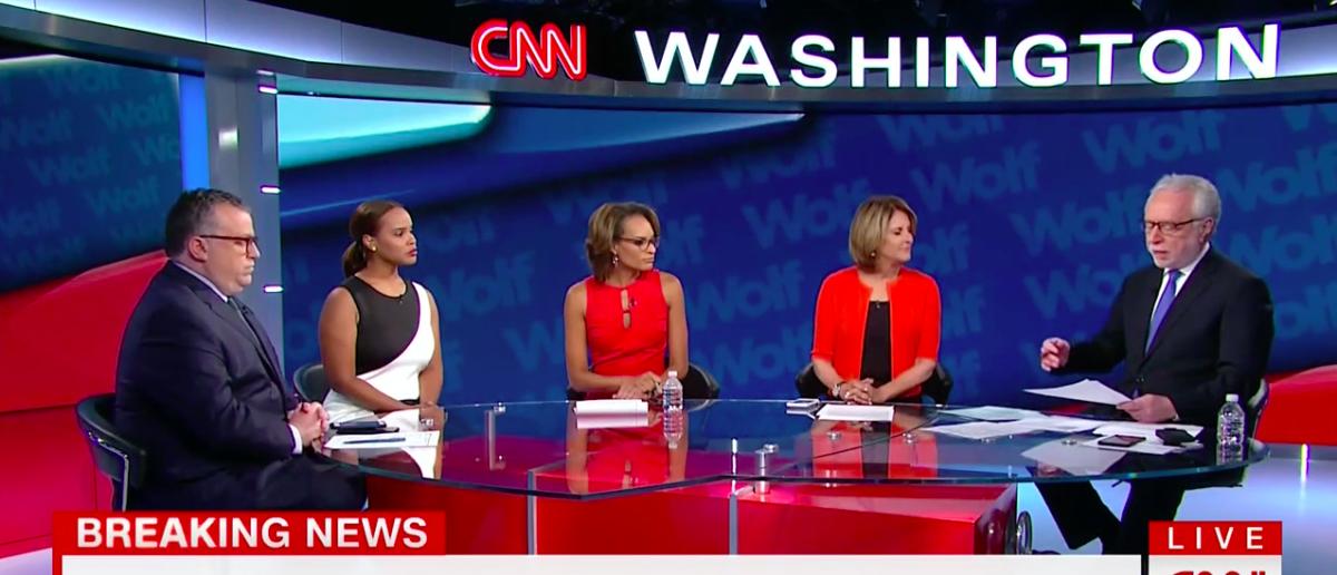 Screen Shot CNN, MSNBC Say Trump's Charlottesville Statement Not Enough (Aug 14, 2017)