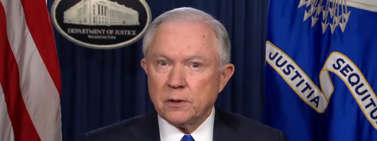 Attorney General Jeff Sessions speaks on ABC News. (YouTube screenshot/ABC News)