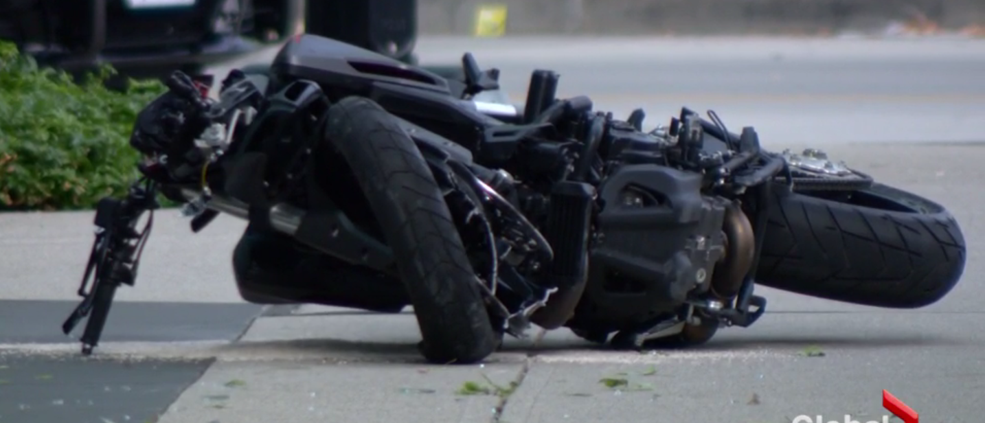 A stunt driver died on the set of 'Deadpool 2' In Vancouver after a motocycle accident (Screenshot/Global News Video)