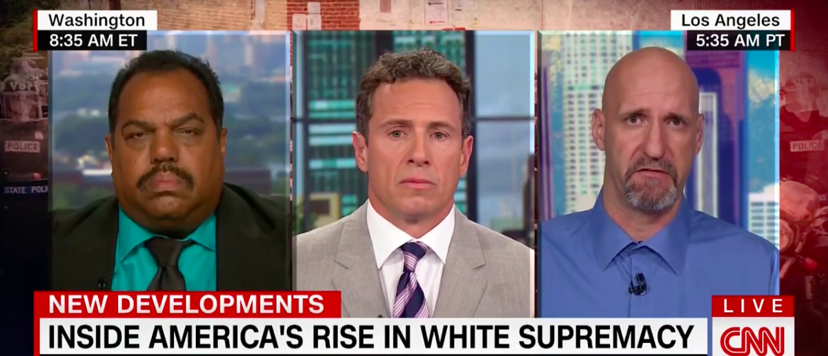 Screen Shot Chris Cuomo (CNN: Aug 17, 2017)