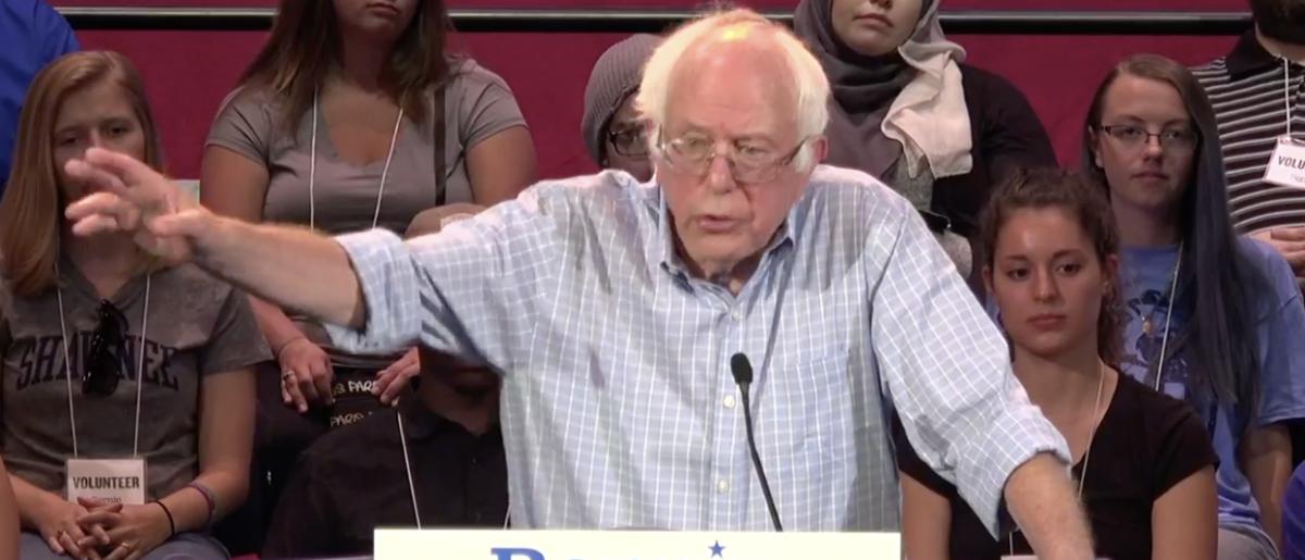 Screenshot/Bernie Sanders