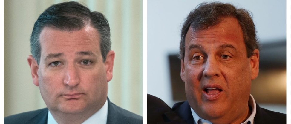 Ted Cruz, Chris Christie (Getty Images)