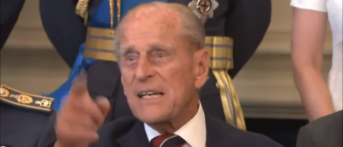 Prince Philip/Royal Family Channel Screengrab