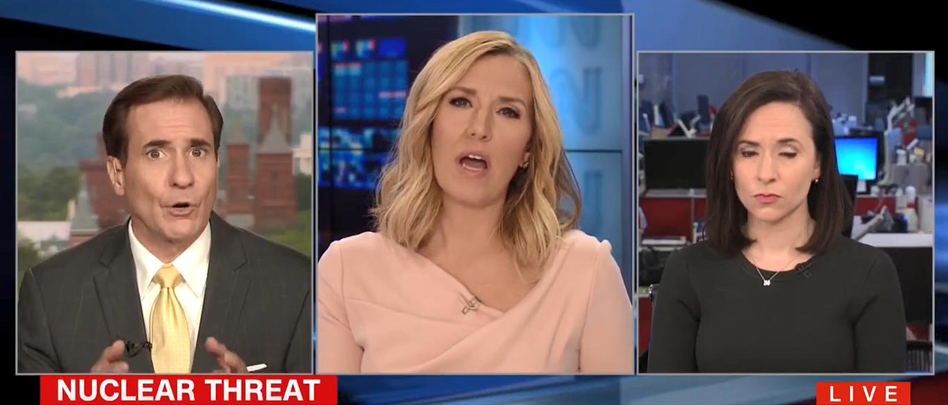 John Kirby CNN Newsroom 08-11-17
