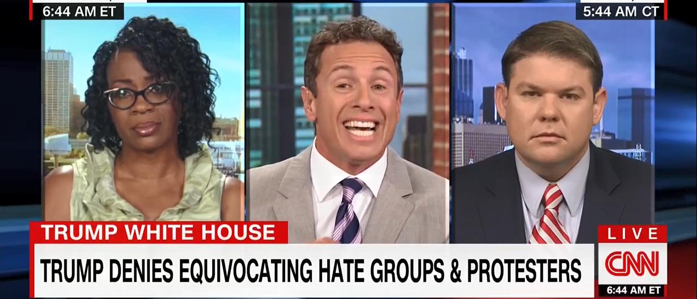 Chris Cuomo CNN New Day 08-17-17