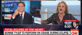 CNN Host Makes A Fool Of Himself, Waves Lighter While Guest Breaks Out Into Song