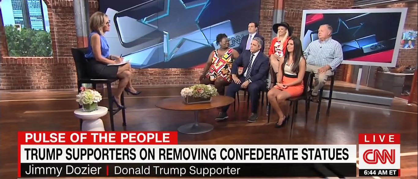 Trump Voter Panel Round 2 CNN New Day 08-24-17