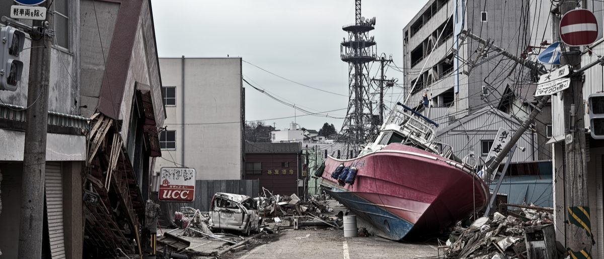 Shutterstock/ Tsunami : 04/30/2011 Fukushima japan