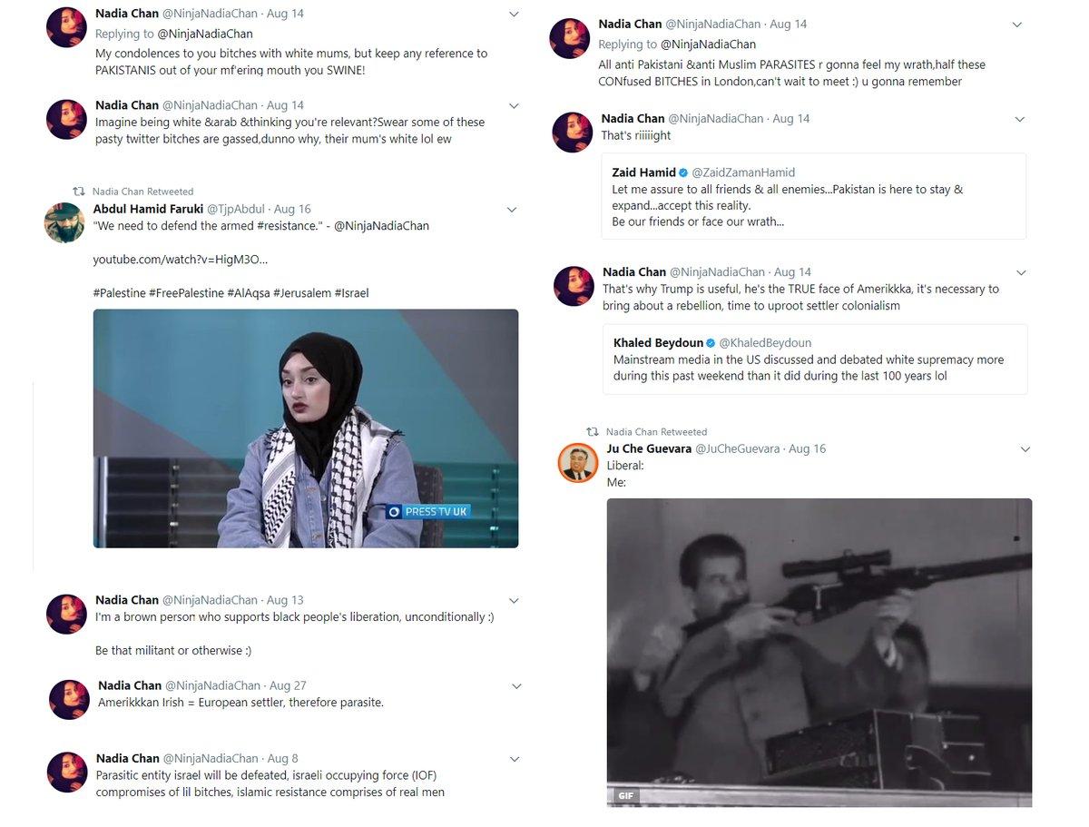 Nadia Chan (Screenshot: Jack Montgomery, Twitter)