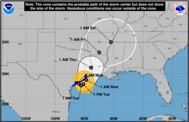 National Weather Service Warns Harvey Is 'Unprecedented,' Impacts 'Unknown'