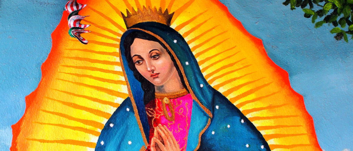 Our Lady Of Guadalupe Icon (Takamex/shutterstock_204643114)