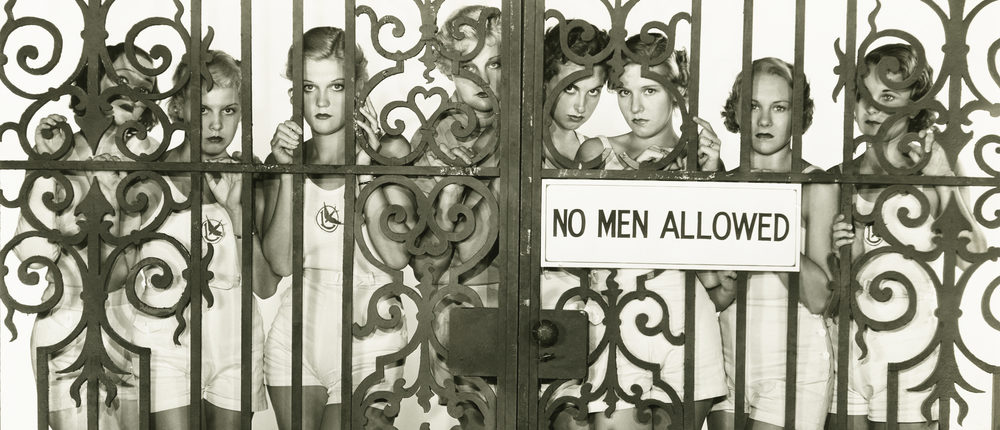 No Men Allowed (Photo: Shutterstock)