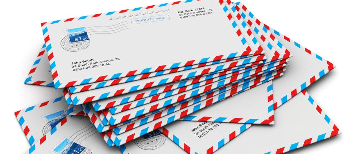 David Hookstead's mailbag (Credit: Shutterstock)