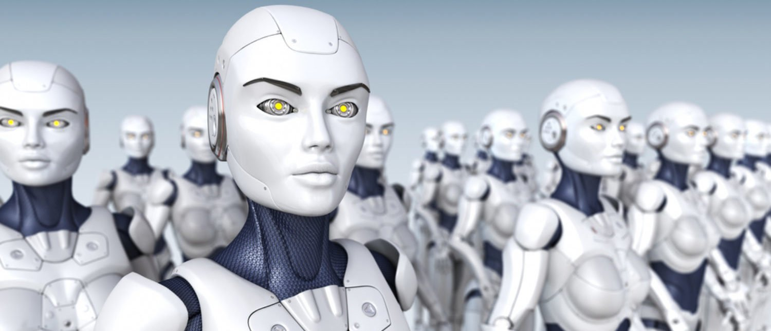 A robot army ready for deployment. [Shutterstock - Tatiana Shepeleva]