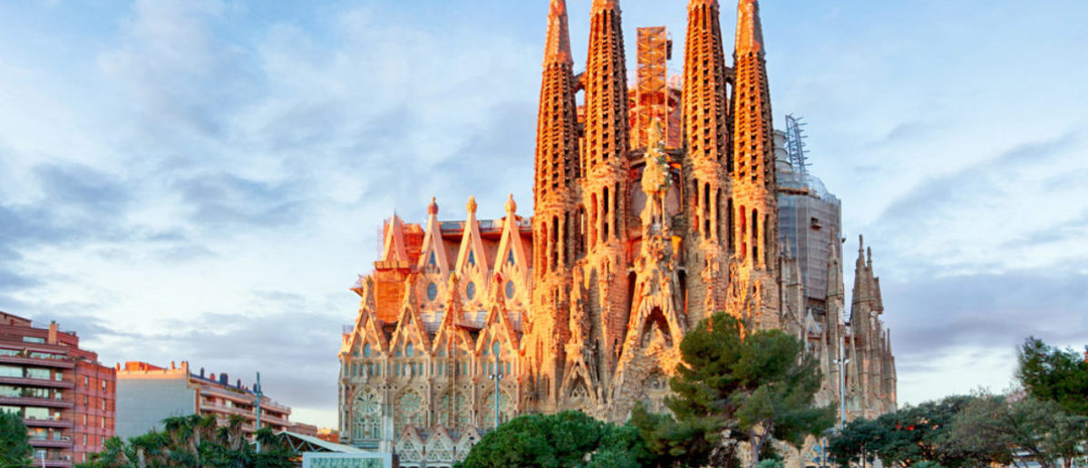 Terrorists targeted la sagrada familia the daily caller for La sagrada familia barcelona spain