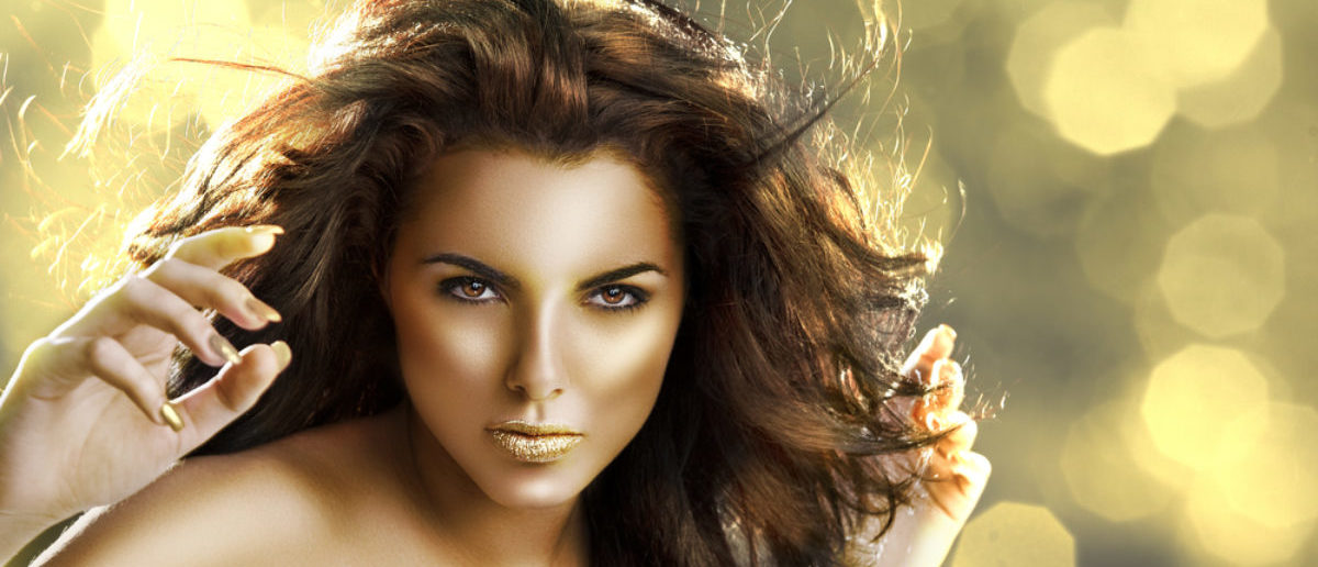 Gold woman (Credit: Shutterstock)