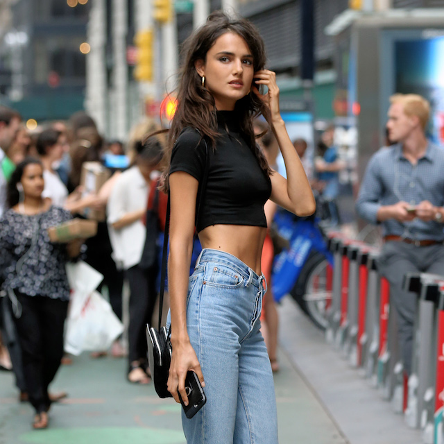Model Blanca Padilla attends a casting for the 2017 Victoria's Secret Fashion Show in Midtown in New York City, NY, USA. <P> Pictured: Blanca Padilla <B>Ref: SPL1560275 210817 </B><BR /> Picture by: Christopher Peterson/Splash News