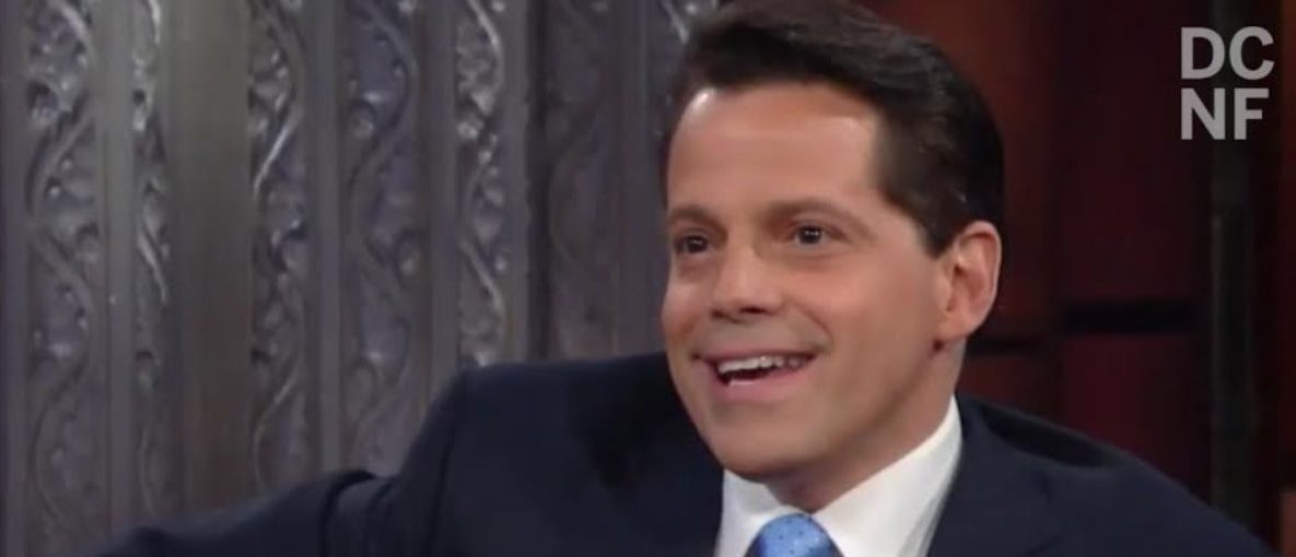 Tim Young's Thoughts on Mooch's Interview With Colbert (Screen grab)