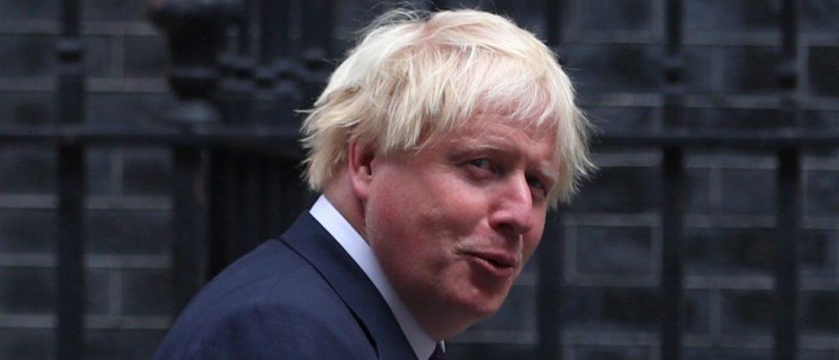 Britain's Foreign Secretary Boris Johnson arrives at 10 Downing Street in London, Britain August 29, 2017. REUTERS/Hannah McKay