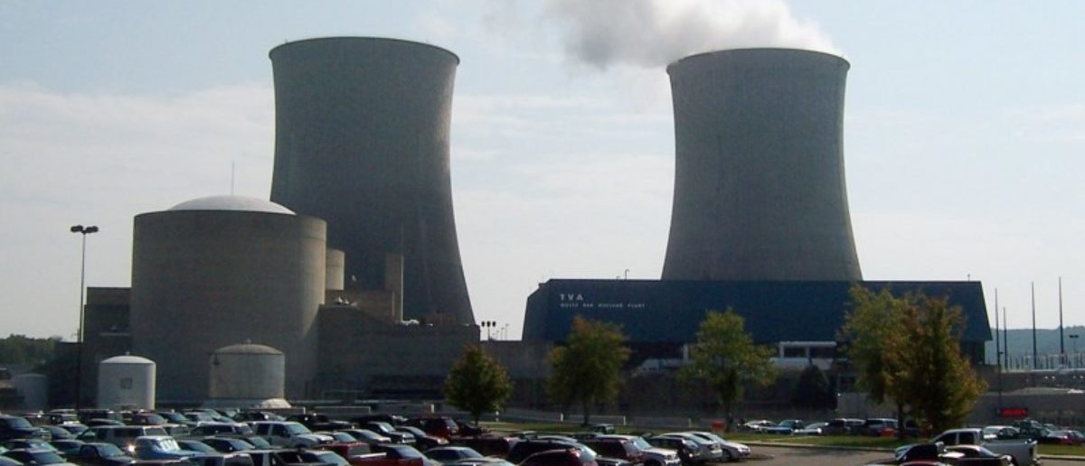 FILE PHOTO: Steam rises from a cooling tower at the Tennessee Valley Authority's Watts Bar Nuclear Plant in Spring City