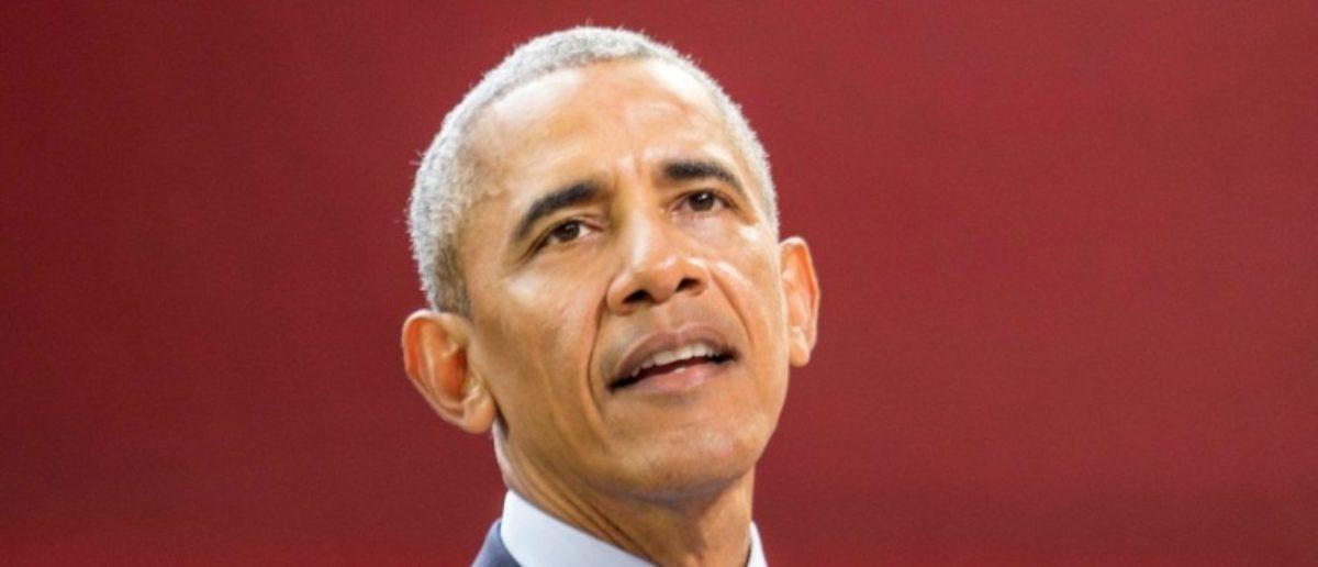 Former U.S. President Barack Obama speaks at the Bill & Melinda Gates Foundation Goalkeepers event in New York, U.S., September 20, 2017.