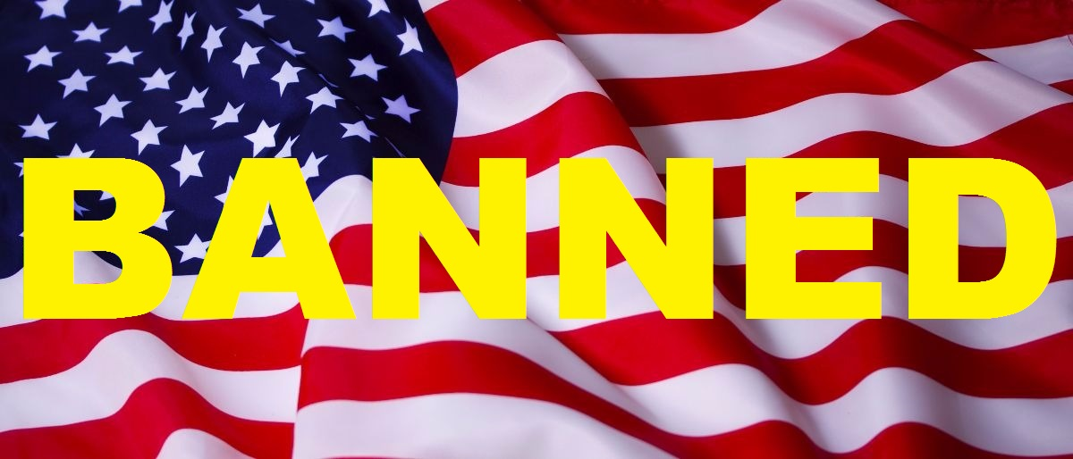 American flag with added text Shutterstock/sharpner